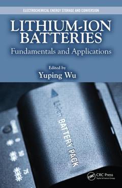 Couverture de l'ouvrage Lithium-Ion Batteries
