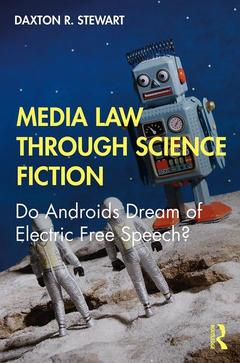 Cover of the book Media Law through Science Fiction