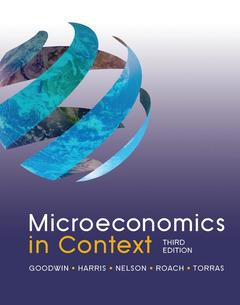 Cover of the book Microeconomics in Context