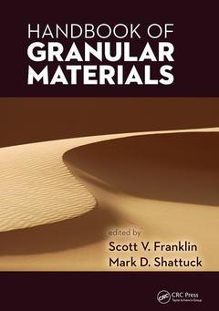 Couverture de l'ouvrage Handbook of Granular Materials