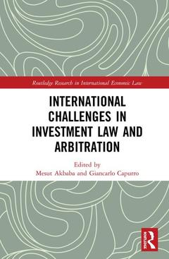 Couverture de l'ouvrage International Challenges in Investment Arbitration