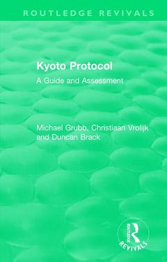 Cover of the book Routledge Revivals: Kyoto Protocol (1999)