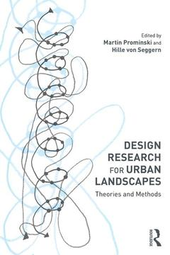 Cover of the book Design Research for Urban Landscapes