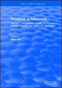 Cover of the book Handbook of Terpenoids