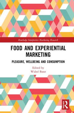 Couverture de l'ouvrage Food and Experiential Marketing