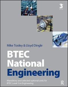 Couverture de l'ouvrage BTEC National Engineering, 3rd ed