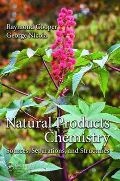Couverture de l'ouvrage Natural Products Chemistry
