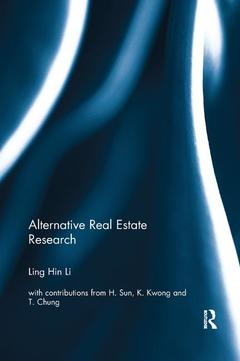 Cover of the book Alternative Real Estate Research
