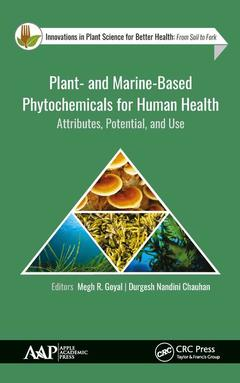 Couverture de l'ouvrage Plant- and Marine- Based Phytochemicals for Human Health