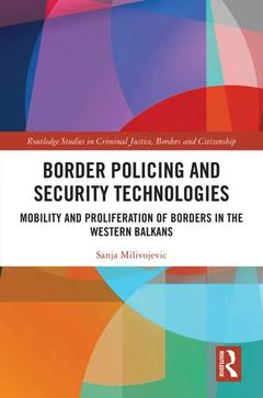Couverture de l'ouvrage Border Policing and Security Technologies