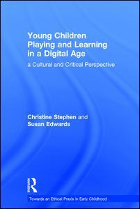 Couverture de l'ouvrage Young Children Playing and Learning in a Digital Age