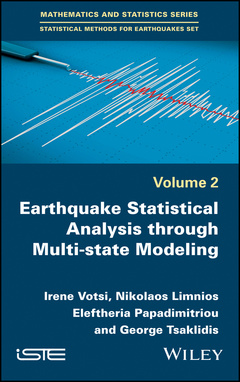 Cover of the book Multistate Models in Earthquake Modeling