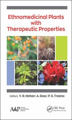 Couverture de l'ouvrage Ethnomedicinal Plants with Therapeutic Properties