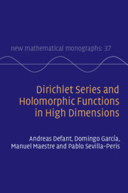 Cover of the book Dirichlet Series and Holomorphic Functions in High Dimensions