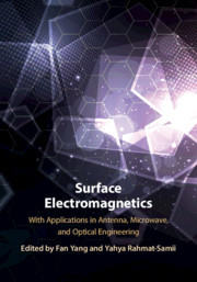 Cover of the book Surface Electromagnetics