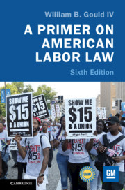 Cover of the book A Primer on American Labor Law