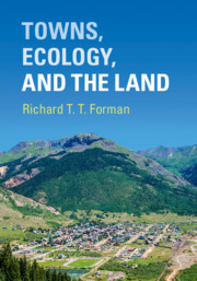 Cover of the book Towns, Ecology, and the Land