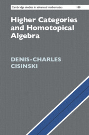 Cover of the book Higher Categories and Homotopical Algebra