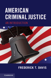 Cover of the book American Criminal Justice