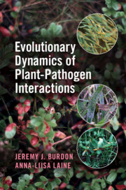 Cover of the book Evolutionary Dynamics of Plant-Pathogen Interactions
