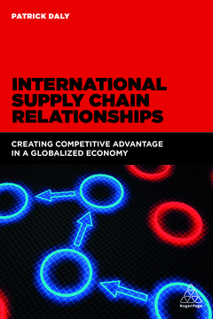 Couverture de l'ouvrage International Supply Chain Relationships