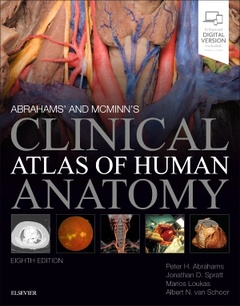 Couverture de l'ouvrage McMinn and Abrahams' Clinical Atlas of Human Anatomy