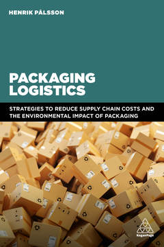 Couverture de l'ouvrage Packaging Logistics