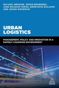 Cover of the book Urban Logistics