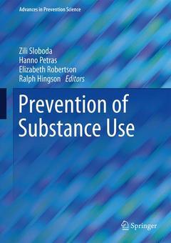 Couverture de l'ouvrage Prevention of Substance Use