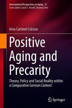 Couverture de l'ouvrage Positive Aging and Precarity