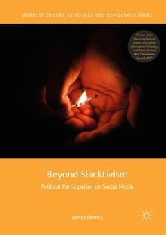 Couverture de l'ouvrage Beyond Slacktivism