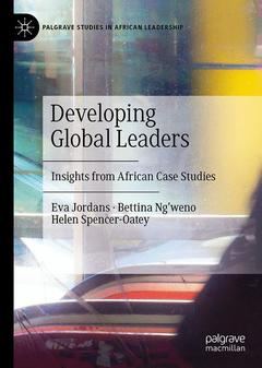 Couverture de l'ouvrage Developing Global Leaders