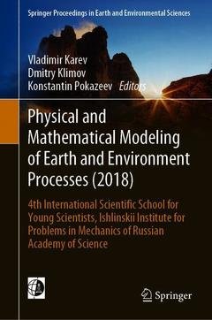 Couverture de l'ouvrage Physical and Mathematical Modeling of Earth and Environment Processes (2018)