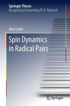 Couverture de l'ouvrage Spin Dynamics in Radical Pairs
