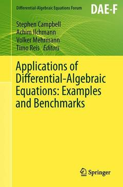 Couverture de l'ouvrage Applications of Differential-Algebraic Equations: Examples and Benchmarks