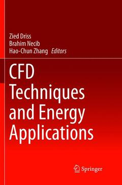 Cover of the book CFD Techniques and Energy Applications