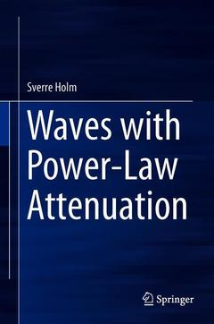 Couverture de l'ouvrage Waves with Power-Law Attenuation
