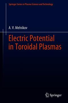 Cover of the book Electric Potential in Toroidal Plasmas