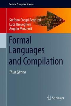 Couverture de l'ouvrage Formal Languages and Compilation