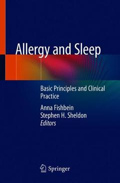 Couverture de l'ouvrage Allergy and Sleep