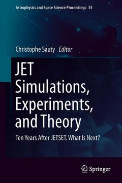 Cover of the book JET Simulations, Experiments, and Theory