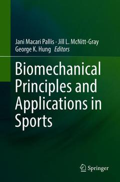 Cover of the book Biomechanical Principles and Applications in Sports