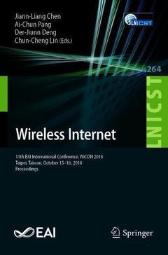 Couverture de l'ouvrage Wireless Internet