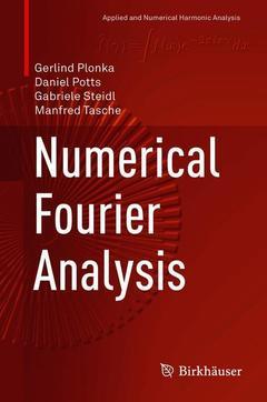 Couverture de l'ouvrage Numerical Fourier Analysis