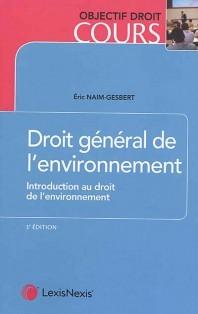 Couverture de l'ouvrage Droit général de l'environnement