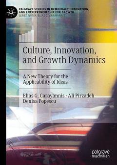 Couverture de l'ouvrage Culture, Innovation, and Growth Dynamics