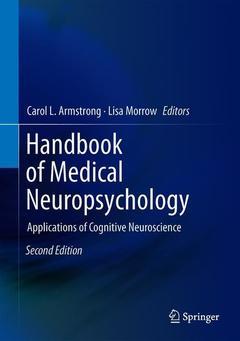 Couverture de l'ouvrage Handbook of Medical Neuropsychology