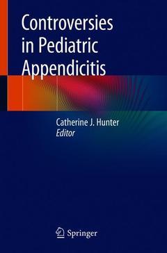 Couverture de l'ouvrage Controversies in Pediatric Appendicitis