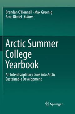 Cover of the book Arctic Summer College Yearbook