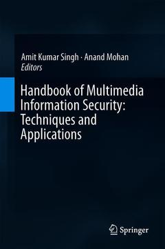Cover of the book Handbook of Multimedia Information Security: Techniques and Applications